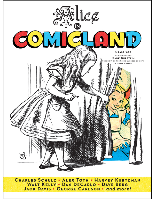 Cover of Alice in Comicland