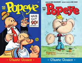 Cover of Popeye Classic #11