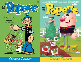 Cover of Popeye Classic #12