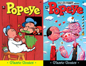 Cover of Popeye Classic #27