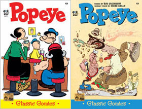 Cover of Popeye Classic #34