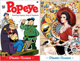 Cover of Popeye Classic #36