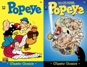 Cover of Popeye Classic #38