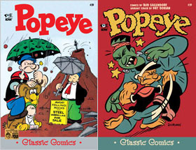 Cover of Popeye Classic #39