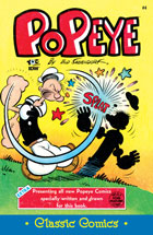 Cover of Popeye Classic #4