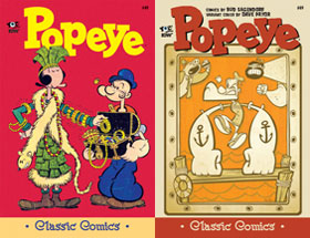 Cover of Popeye Classic #49