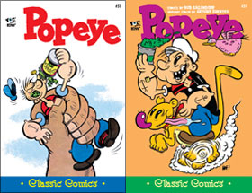 Cover of Popeye Classic #51