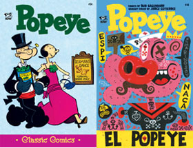Cover of Popeye Classic #54