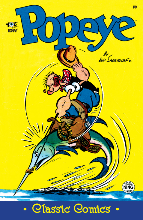 Cover of Popeye Classic #9