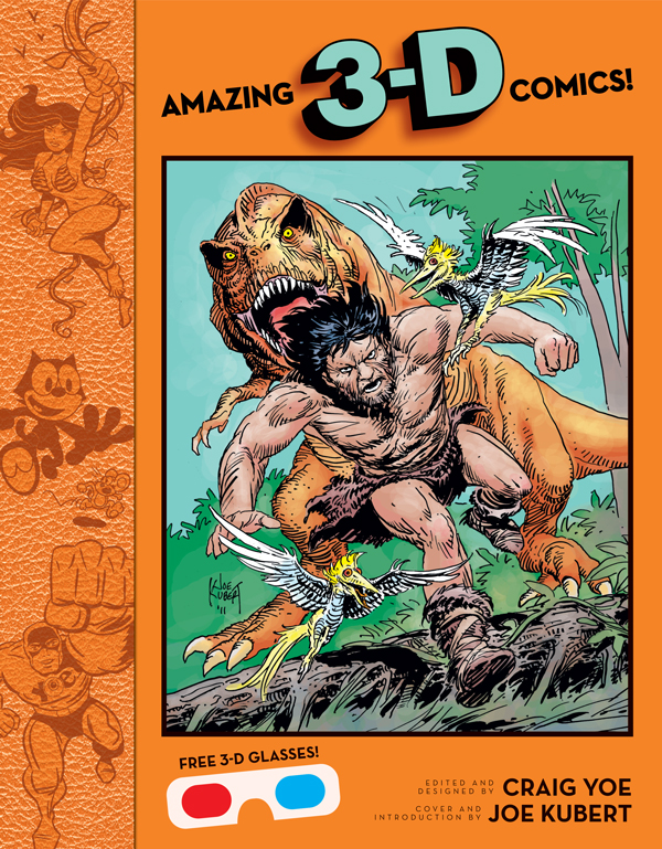 Cover of AMAZING 3-D COMICS