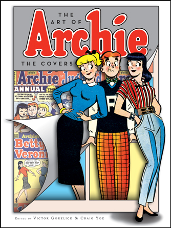Cover of THE ART OF ARCHIE: THE COVERS by Victor Gorelick