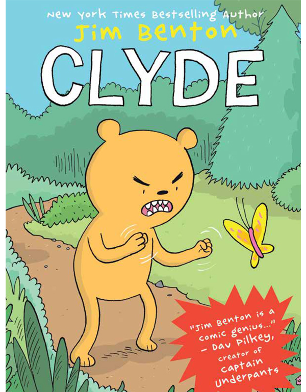 Cover of CLYDE by Jim Benton