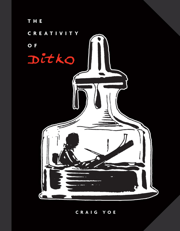 Cover of THE CREATIVITY OF DITKO