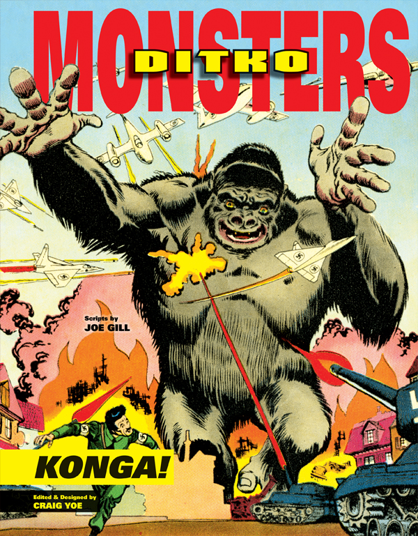 Cover of Ditko's Monsters: KONGA!