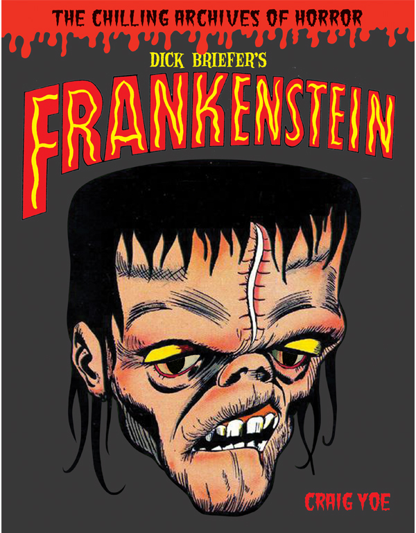Cover of DICK BRIEFER'S FRANKENSTEIN