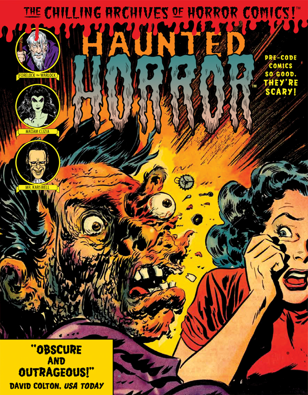 Cover of HAUNTED HORROR: Pre-Code Comics So Good, They're Scary (Volume 3)