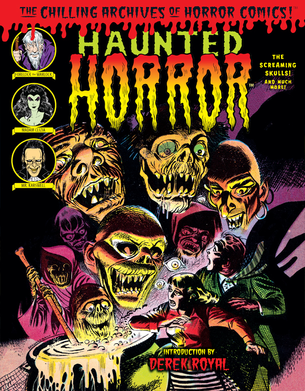 Cover of HAUNTED HORROR: The Screaming Skull (Volume 5)