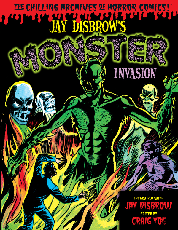 Cover of JAY DISBROW'S MONSTER INVASION