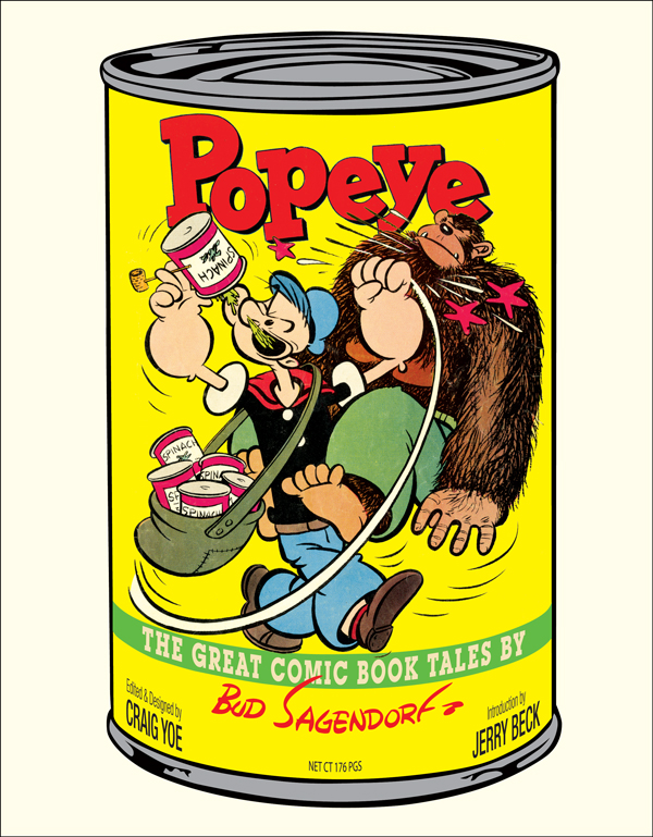 POPEYE: THE GREAT COMIC BOOK TALES BY BUD SAGENDOR...