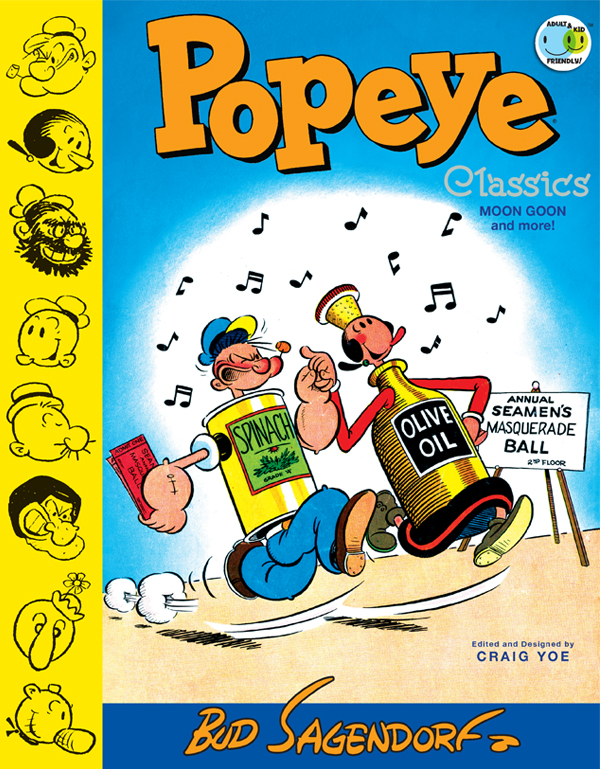 Cover of POPEYE CLASSICS Vol. 2: