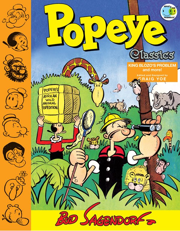 Cover of POPEYE CLASSICS Vol. 4: