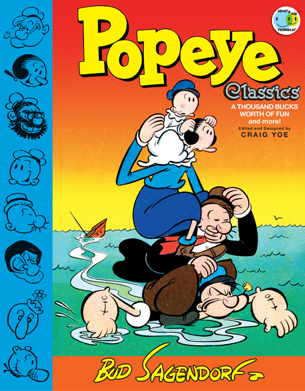 Cover of Popeye Classics Vol. 5: