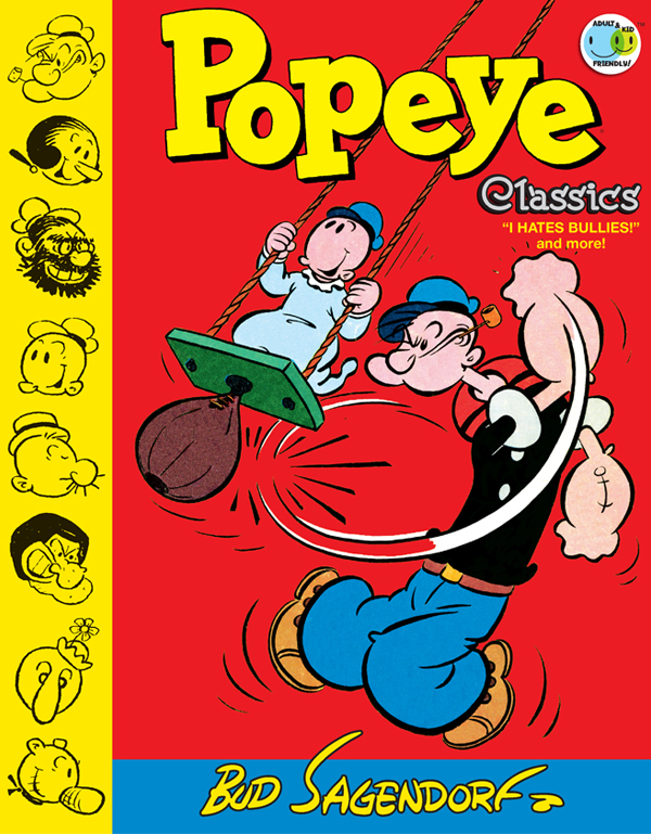 Cover of Popeye Classics Vol. 8: