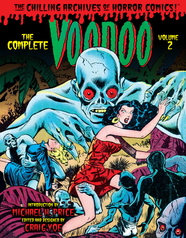 Cover of THE COMPLETE VOODOO Volume 2