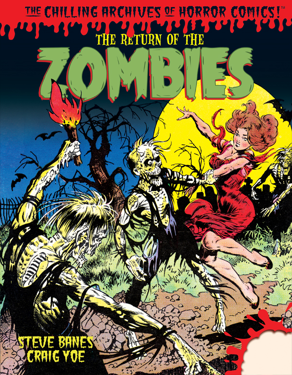 Cover of THE RETURN OF THE ZOMBIES!