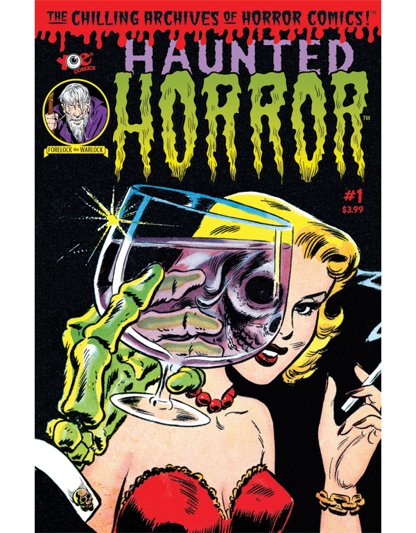 Cover of HAUNTED HORROR #01 comic book