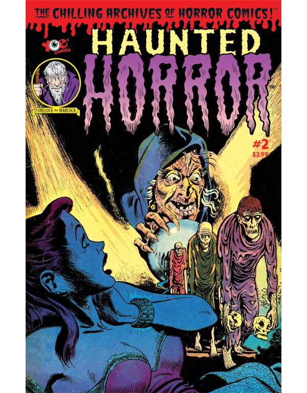 Cover of HAUNTED HORROR #02 comic book