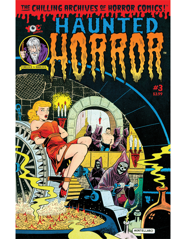 Cover of HAUNTED HORROR #03 comic book