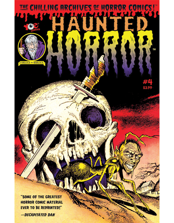 Cover of HAUNTED HORROR #04 comic book