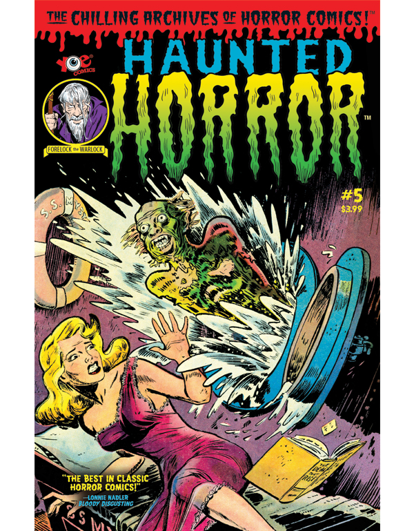 Cover of HAUNTED HORROR #05 comic book