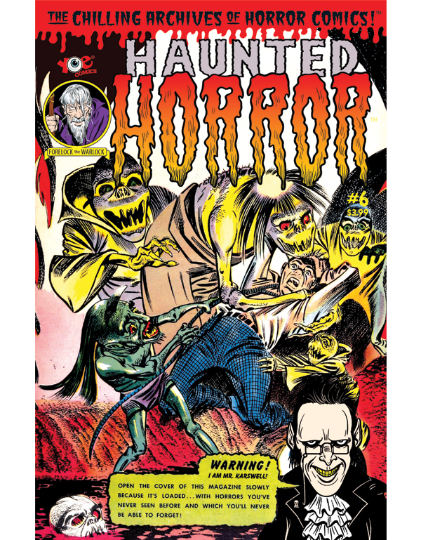 Cover of HAUNTED HORROR #06 comic book