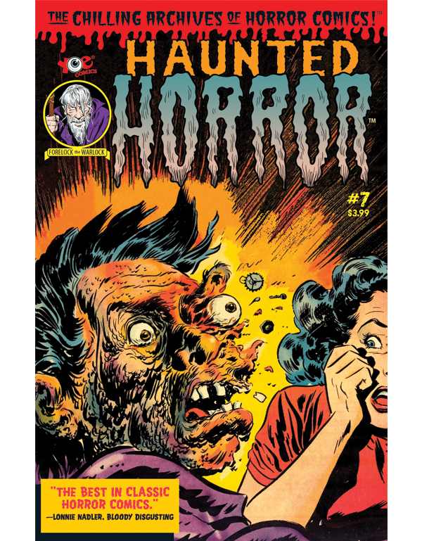 Cover of HAUNTED HORROR #07 comic book