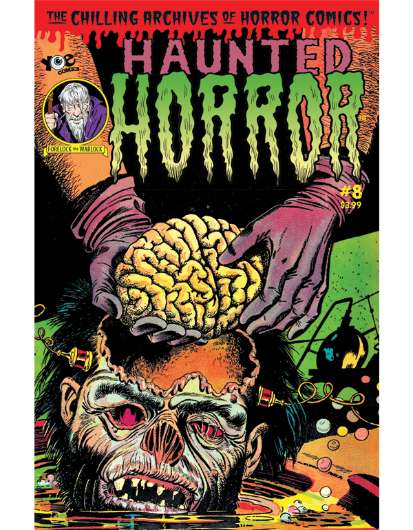 Cover of HAUNTED HORROR #08 comic book