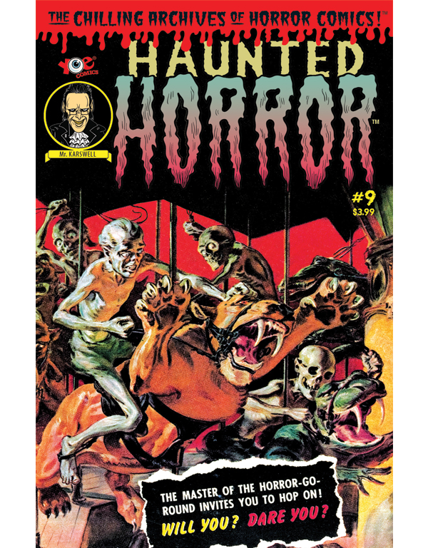 Cover of HAUNTED HORROR #09 comic book