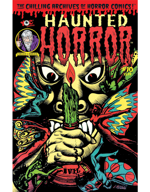 Cover of HAUNTED HORROR #10 comic book