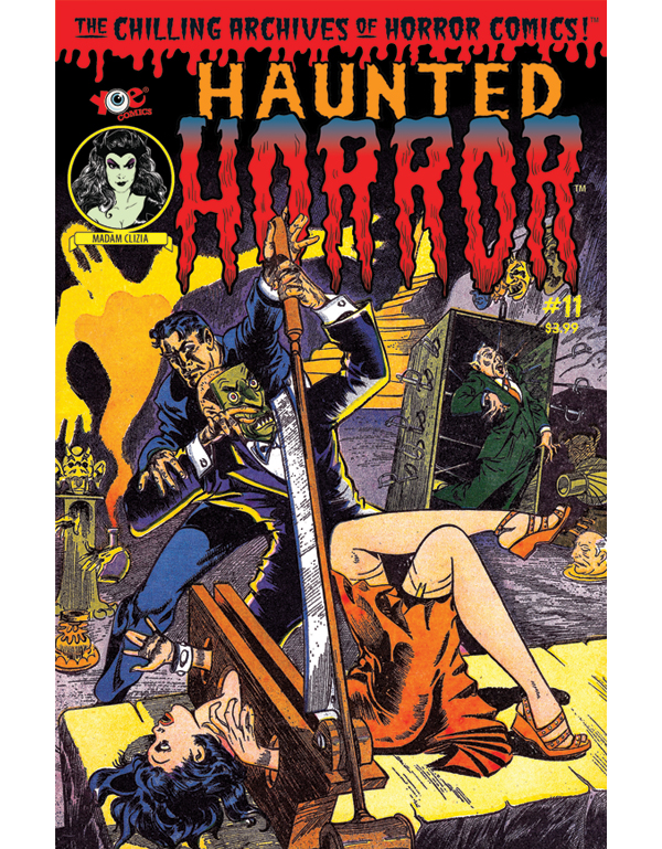 Cover of HAUNTED HORROR #11 comic book