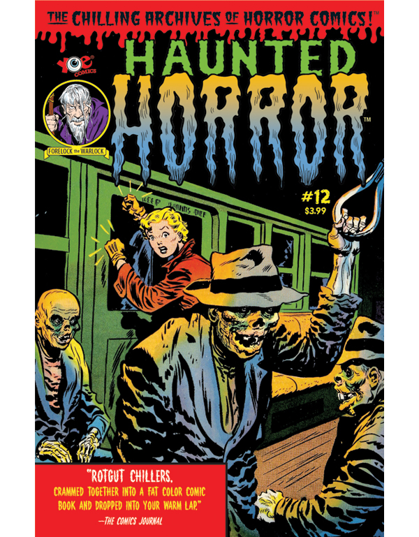 Cover of HAUNTED HORROR #12 comic book