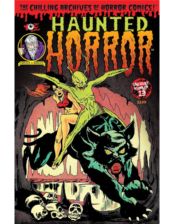Cover of HAUNTED HORROR #13 comic book