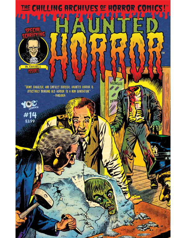 Cover of HAUNTED HORROR #14 comic book
