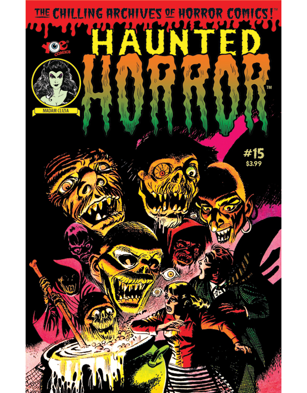 Cover of HAUNTED HORROR #15 comic book