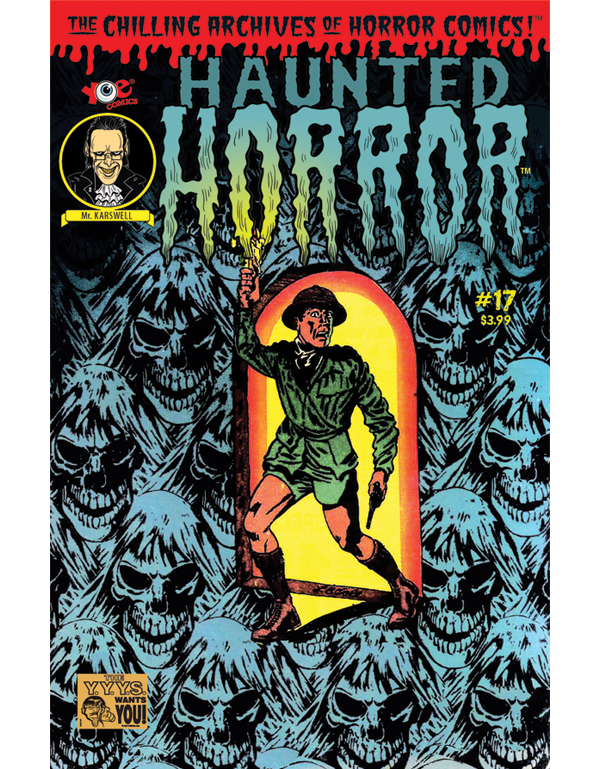 Cover of HAUNTED HORROR #17 comic book