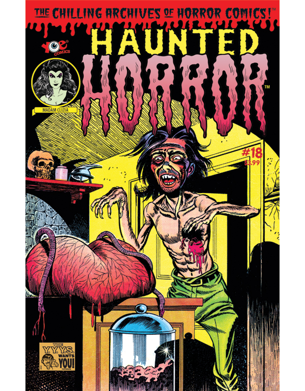 Cover of HAUNTED HORROR #18 comic book