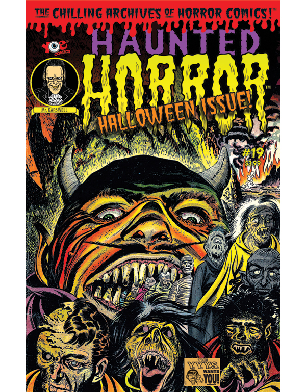 Cover of HAUNTED HORROR #19 comic book