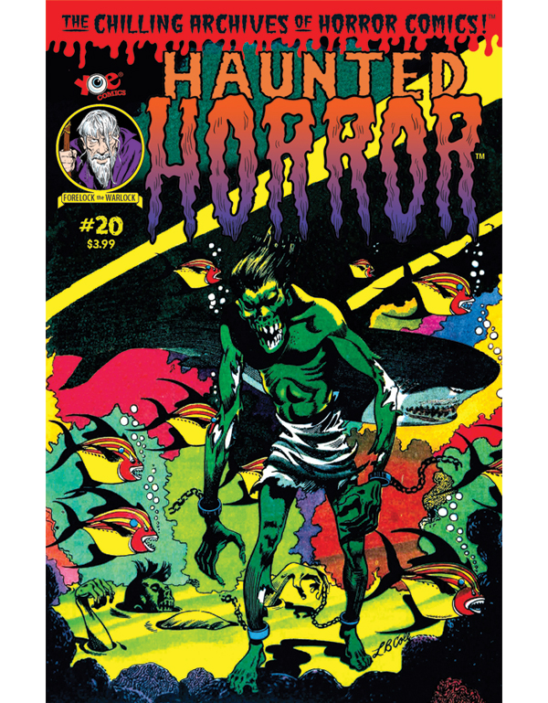 Cover of HAUNTED HORROR #20 comic book