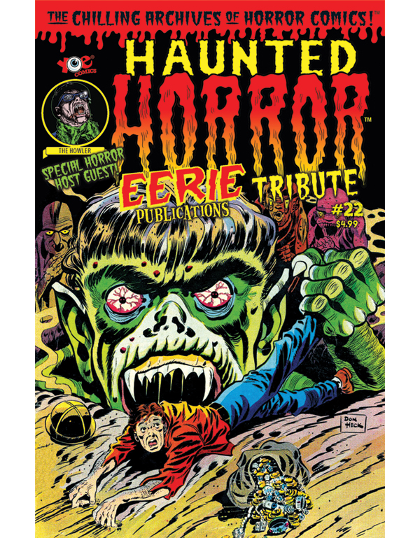 Cover of HAUNTED HORROR #22 comic book