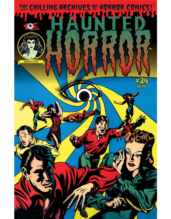 Cover of HAUNTED HORROR #24 comic book